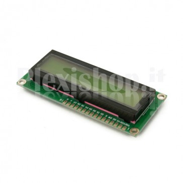 Display LCD 1602ZFA 16x2 - Verde