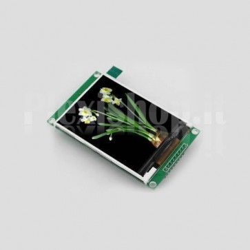 "Display touchscreen LCD 2.8"" TFT con driver ILI9341"