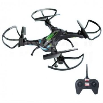 Drone 4 Canali 2.4GHz 200m Quadricottero Radiocomandato con Telecamera