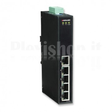 Fast Ethernet Switch Industriale 5 porte Slim IES-1050A