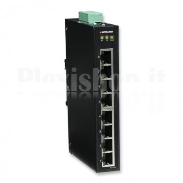 Fast Ethernet Switch Industriale 8 porte slim IES-1080A