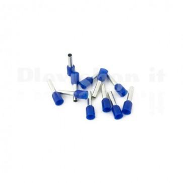 Puntale boccola singolo a crimpare - E2510