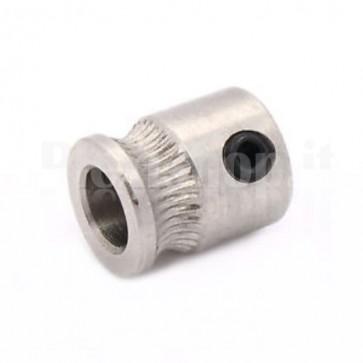Estrusore dentato MK8 a puleggia per stampanti 3D, per filamenti di 1.75-3.0mm