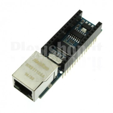 Shield Ethernet ENC28J60 per Arduino