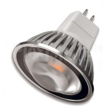 Faretto LED Sharp Mini Zeni MR16 Bianco Caldo, Classe A