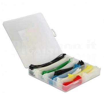 Fascette Fermacavo Colorate Kit da 600 pz