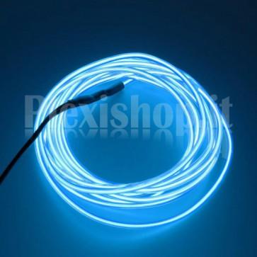Filo elettroluminescente BLU Ø 2.3 mm - 5m