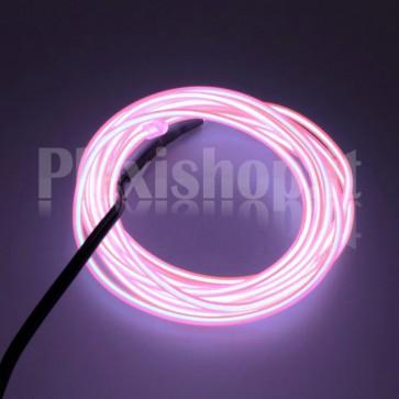 Filo elettroluminescente ROSA Ø 2.3 mm - 5m