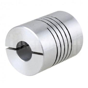 Giunto meccanico flessibile, D20L25, 6.35mm / 8mm