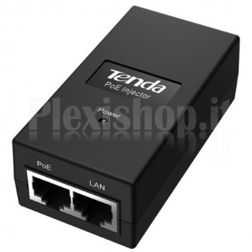 Iniettore PoE IEEE 802.3af fino a 100m PoE15F