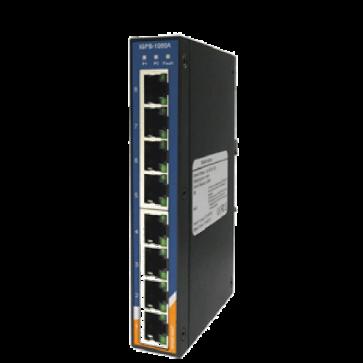 Unmanaged Gigabit PoE switch Industriale 8 porte10/100/1000Mbps