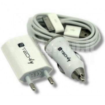 Kit alimentazione casa auto per iPhone 3G/3GS/4G