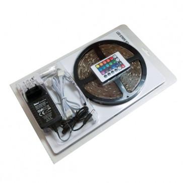 Kit Striscia Led RGB 3528 60 Led/Metro - Single Led