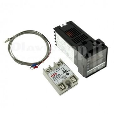 Kit controller di temperatura REX-C100 , 40°