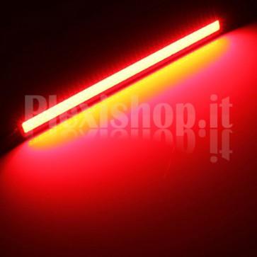 Kit Luci Diurne DRL COB LED (12V) - Rosso