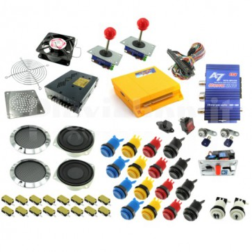 Kit DIY Pandora Box 4 per Cabinati Arcade - Kit Arcade - Pandora Box 4