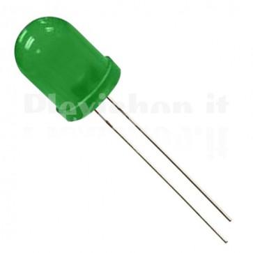 Led 10mm Verde - 2000 Mcd
