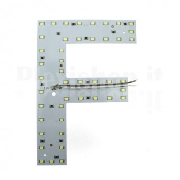 Lettera luminosa a Led - F