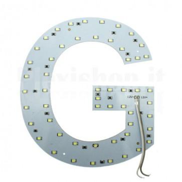 Lettera luminosa a Led - G