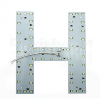 Lettera luminosa a Led - H