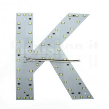 Lettera luminosa a Led - K