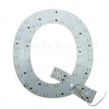 Lettera luminosa a Led - Q