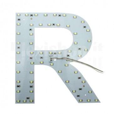 Lettera luminosa a Led - R