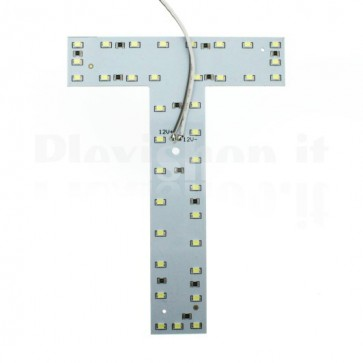 Lettera luminosa a Led - T