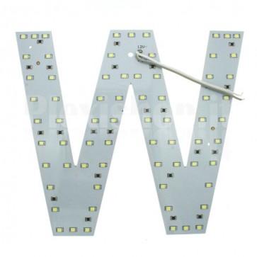 Lettera luminosa a Led - W