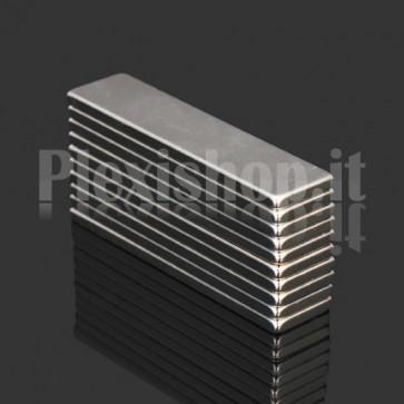 Magnete Neodimio - Cubetto 25x5x1.5 mm