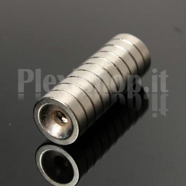 Magnete Neodimio - Dischetto Ø 10x2 mm