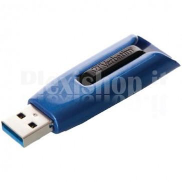 Memoria USB 3.0 Verbatim Retrattile 16GB Blu