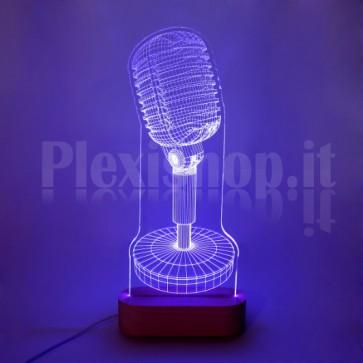 Lampada Microfono Shure RGB