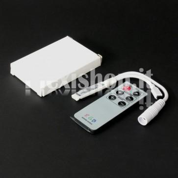 Mini controller RGB 3x2 A con telecomando IR