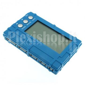 Misuratore di tensione, bilanciatore e scaricatore AOK 5W per batterie Li-Po e Li-Fe