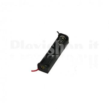 Portabatterie a 1 cella di tipo AA