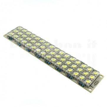 Modulo a 48 LED ad altissima luminosità, 12Vcc