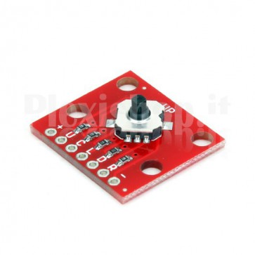 Modulo con micro joystick a 5 vie