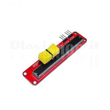 Modulo con potenziometro a slitta per Arduino