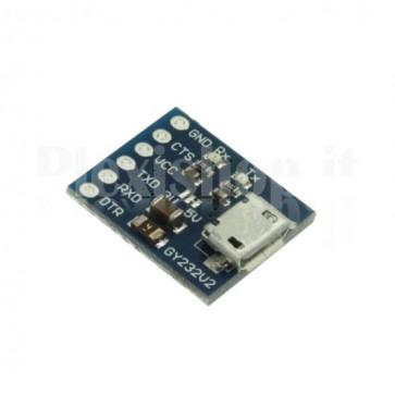 Modulo GY232V2, convertitore micro USB RS232 TTL