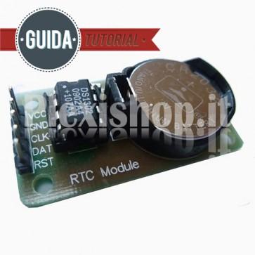 Modulo orologio e calendario con memoria , DS1302