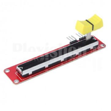 Modulo potenziometro stereo a slitta per Arduino, 10KΩ