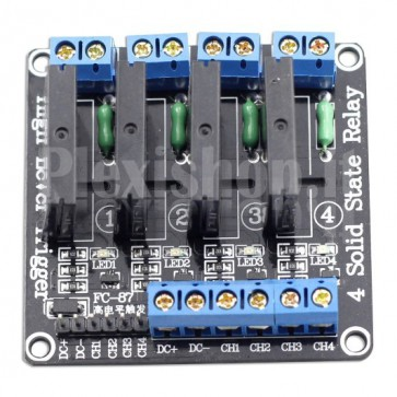 Modulo Relay SSR a 4 canali – 5V