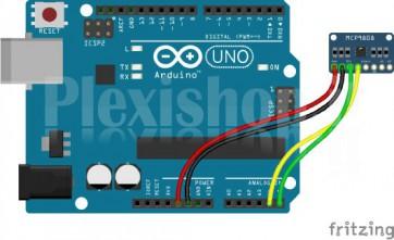 Modulo sensore di temperatura di precisione I2C per Arduino, MCP9808