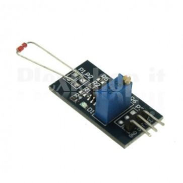 Modulo sensore rivelatore di fiamma e calore