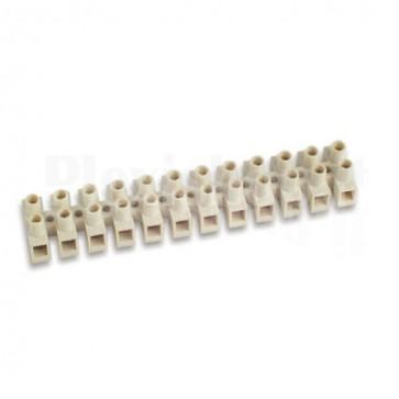 Morsettiera 12 Poli per Contatti Elettrici max 2,5 mm2