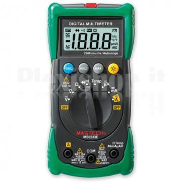 Multimetro Digitale Autorange 2000 Counts MS8233E
