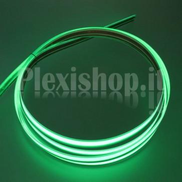 Nastro elettroluminescente VERDE H10 mm - 10m