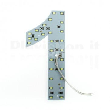 Numero luminoso a Led - 1