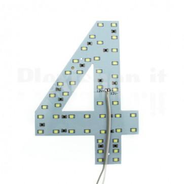 Numero luminoso a Led - 4